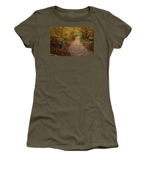 Down The Trail Women's T-Shirt