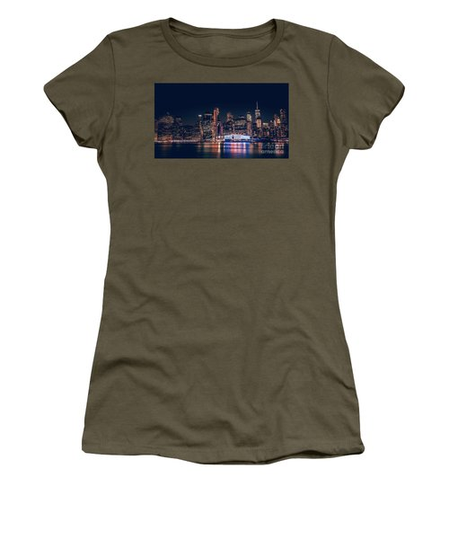 Downtown At Night Women's T-Shirt