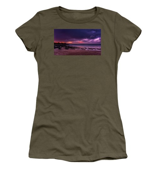 Dramatic Sky At Porthmeor Women's T-Shirt