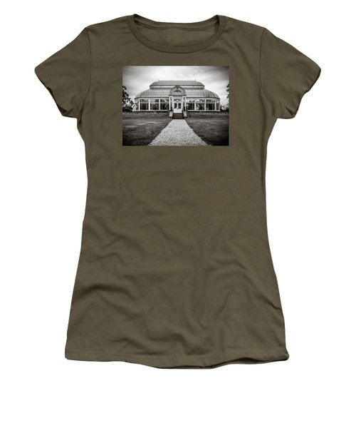 Women's T-Shirt featuring the photograph Duke Farms Conservatory by Steve Stanger