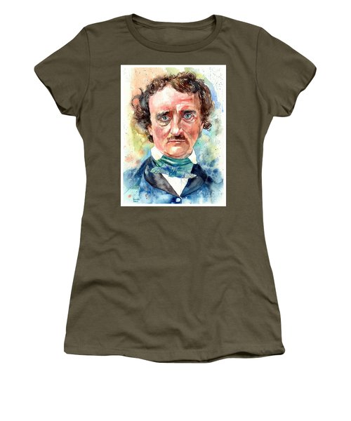 Edgar Allan Poe Portrait Women's T-Shirt