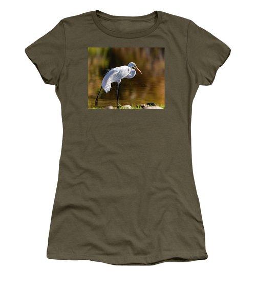 Egret Yoga Women's T-Shirt