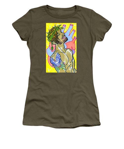 Electric Savior Women's T-Shirt (Athletic Fit)