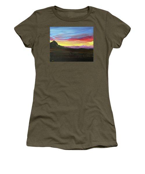 Elephant Head Twilight  Women's T-Shirt