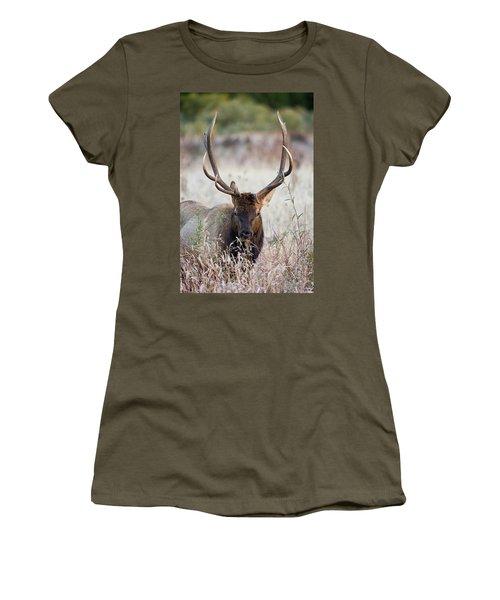 Elk Portrait Women's T-Shirt