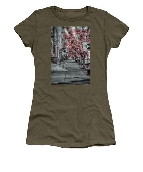 Empty Sidewalk Women's T-Shirt
