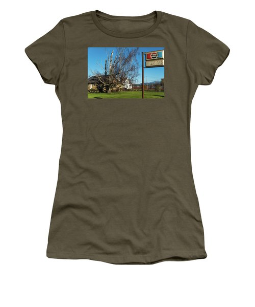 Evergreen Golf Course Women's T-Shirt