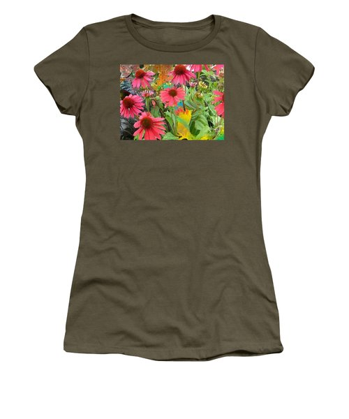 Fairy Among The Flowers Women's T-Shirt