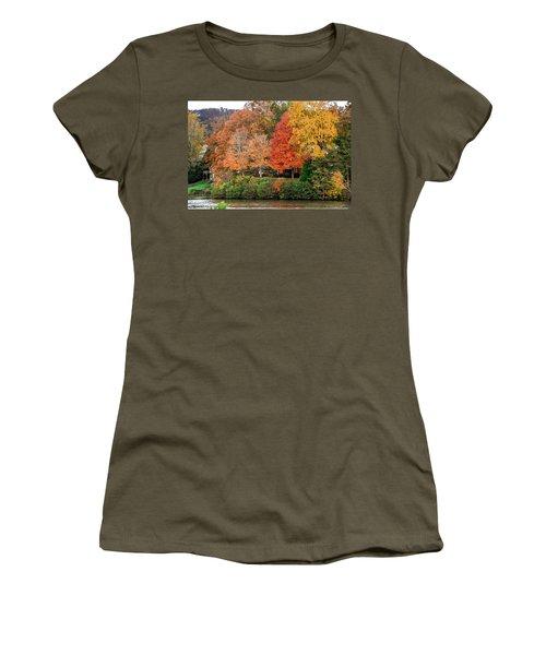 Fall At The Lake Women's T-Shirt
