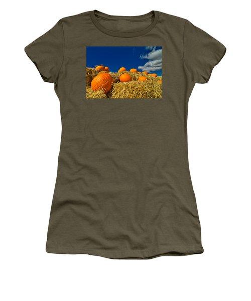 Fall Pumpkins Women's T-Shirt