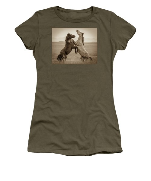 Fighting Stallions Women's T-Shirt