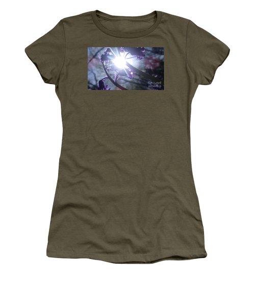 Fine Art Bluebells Photo 1 Women's T-Shirt