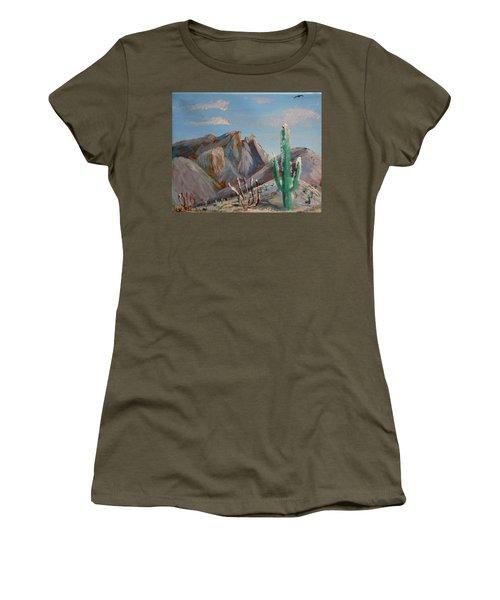 Finger Rock Winter Women's T-Shirt