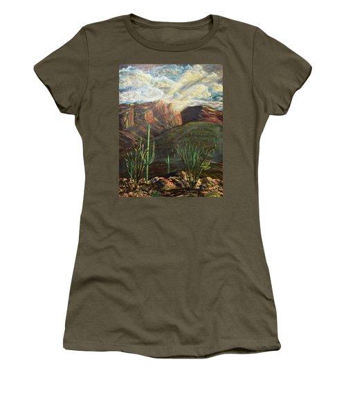 Finger Rock Morning Women's T-Shirt