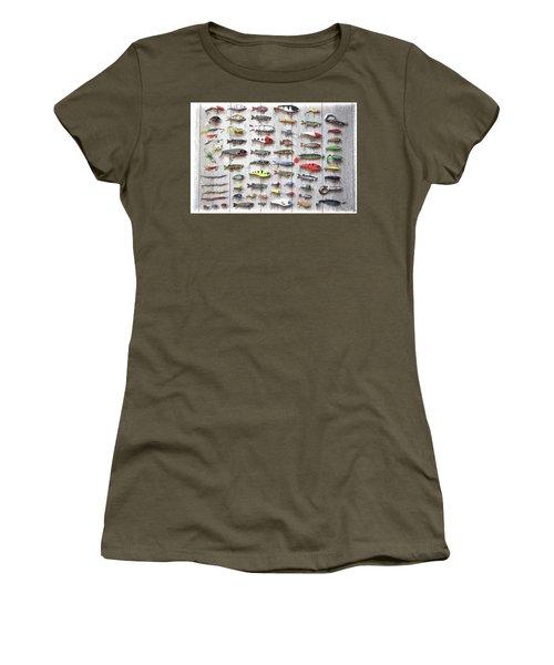 Fishing Lures - Dwp2669219 Women's T-Shirt