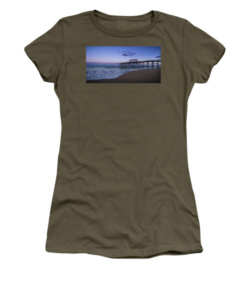 Fishing Pier Sunset Women's T-Shirt