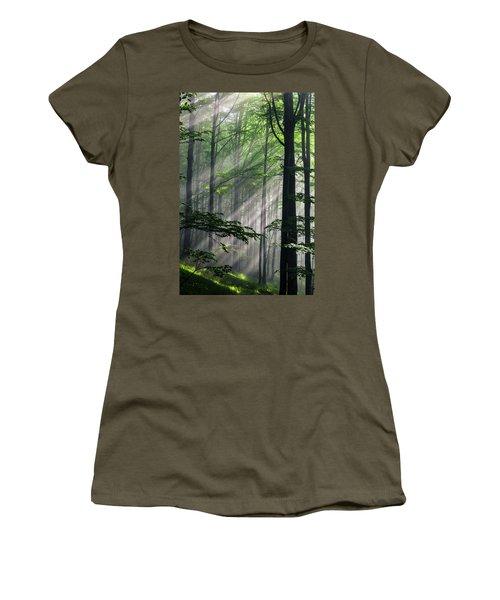 Fleeting Beams Women's T-Shirt