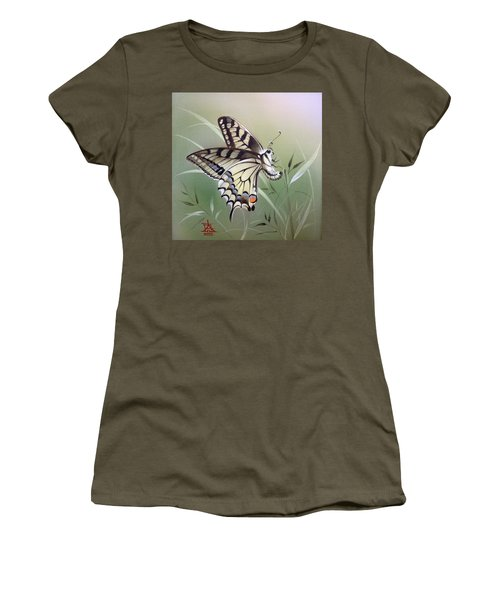 Fleeting Beauty.  Swallowtail Women's T-Shirt