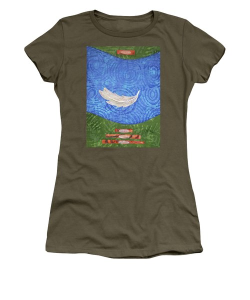 Floating Feather Women's T-Shirt