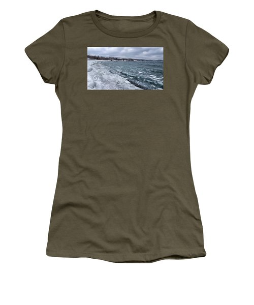 Floating Ice Women's T-Shirt