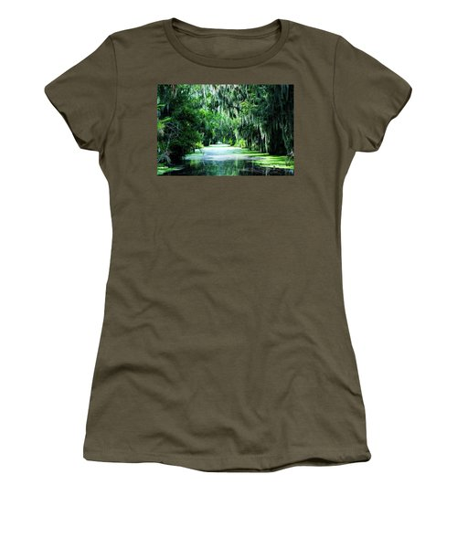 Flush With Green Women's T-Shirt