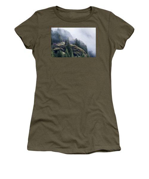 Foggy On Saddle Mountain Women's T-Shirt