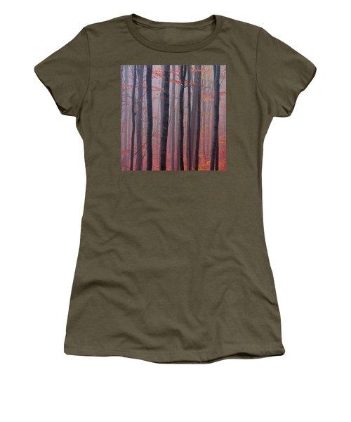 Forest Barcode Women's T-Shirt