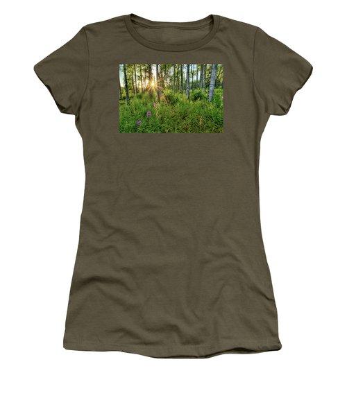 Forest Growth Alaska Women's T-Shirt
