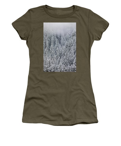 Forest Snow 5 Women's T-Shirt