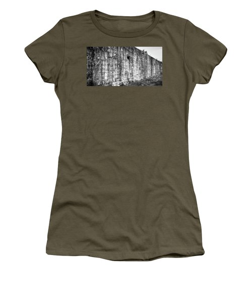 Women's T-Shirt featuring the photograph Fortification by Steve Stanger
