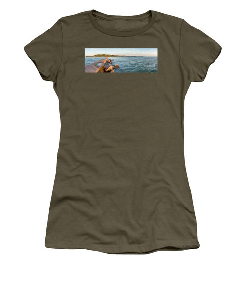 Frankfort Shoreline Panorama Women's T-Shirt