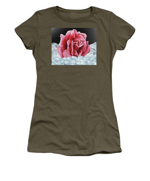Frozen Rose Women's T-Shirt
