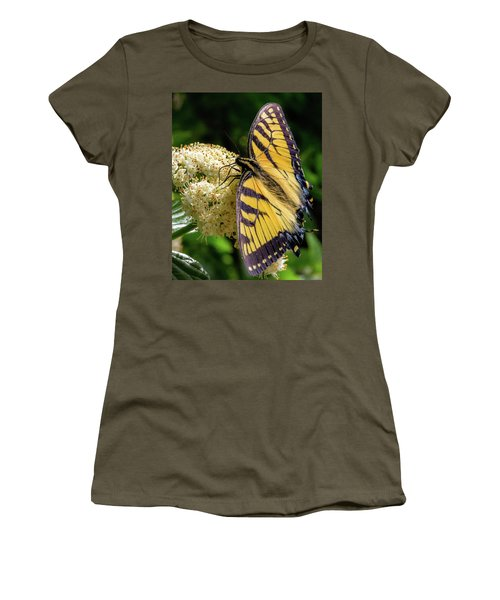 Fuzzy Butterfly Women's T-Shirt