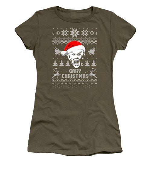 Gary Busey Christmas Shirt Women's T-Shirt