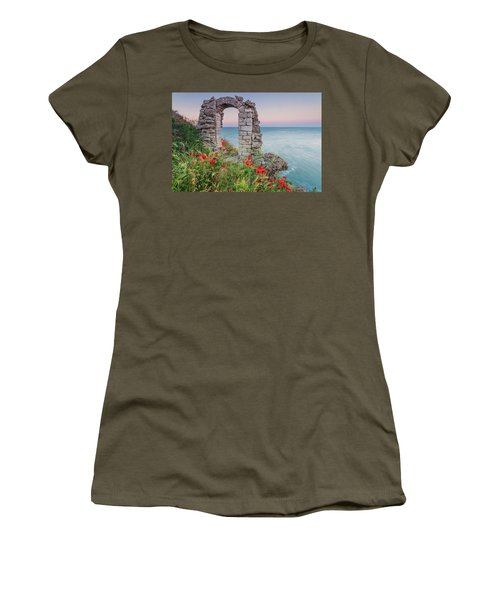 Gate In The Poppies Women's T-Shirt