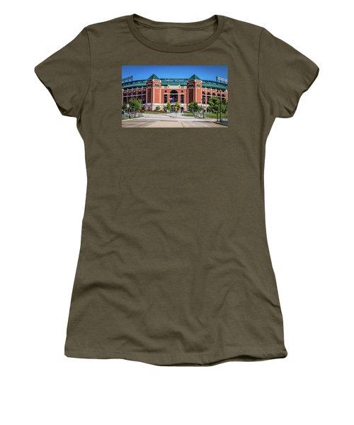 Globe Life Park In Arlington Women's T-Shirt