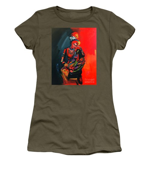 Goddess Of Colors Women's T-Shirt