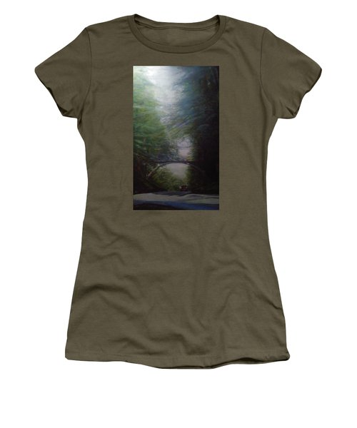 Going East Under The Forest Park Pedestrian Bridge Women's T-Shirt