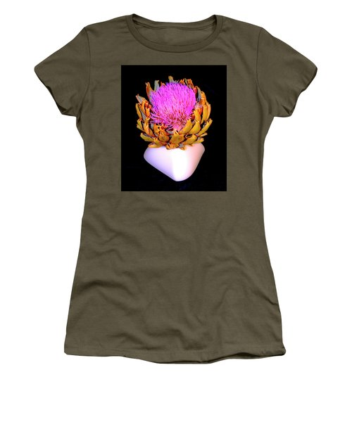 Gold And Pink Women's T-Shirt