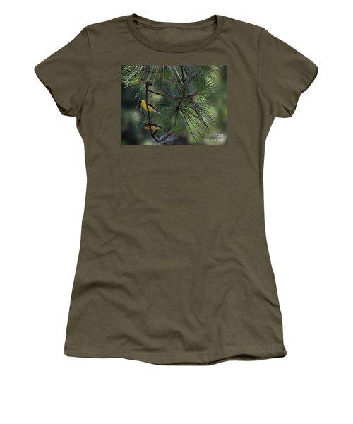 Gold Finch Pair Women's T-Shirt