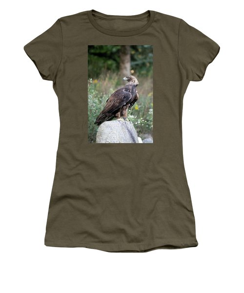 Golden Eagle On Rock 92515 Women's T-Shirt