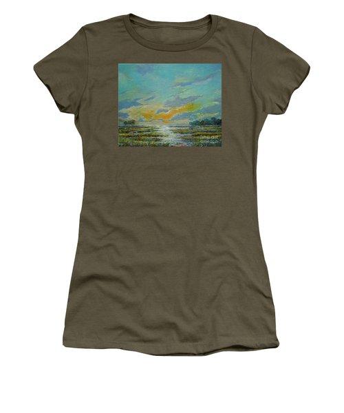 Golden Florida Dusk Women's T-Shirt