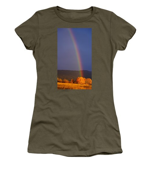 Golden Tree Rainbow Women's T-Shirt