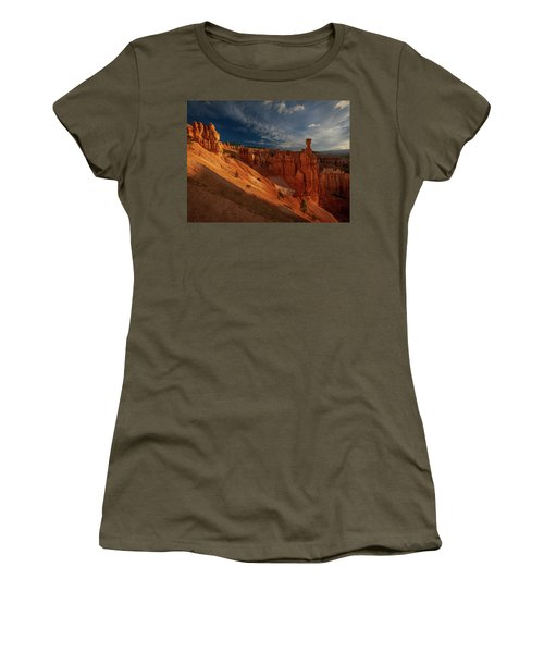 Women's T-Shirt featuring the photograph Good Morning Bryce by Edgars Erglis