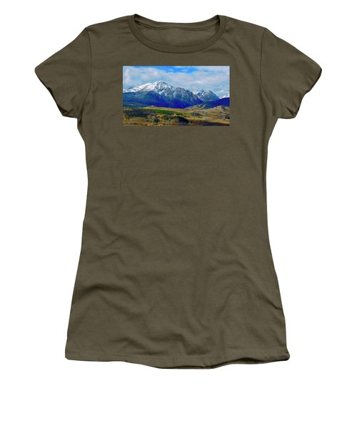 Women's T-Shirt featuring the photograph Gore Mountain Range by Dan Miller