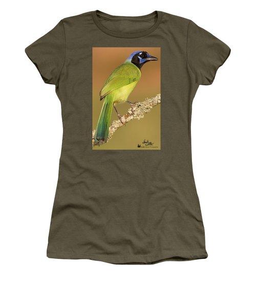 Gorgeous Green Jay Women's T-Shirt