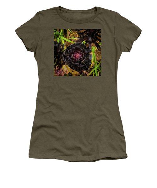 Goth Succulent Women's T-Shirt