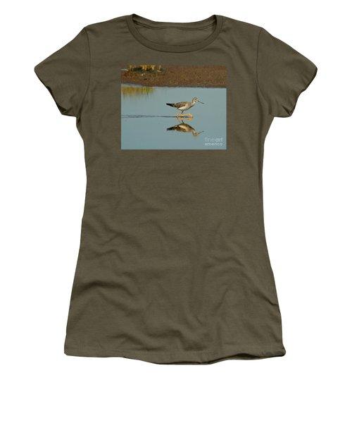 Greater Yellowlegs  Women's T-Shirt