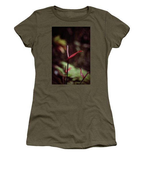 Women's T-Shirt featuring the photograph Greedy by Michelle Wermuth