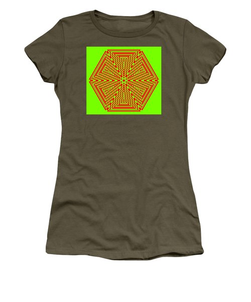 Green And Red Fusion  Women's T-Shirt